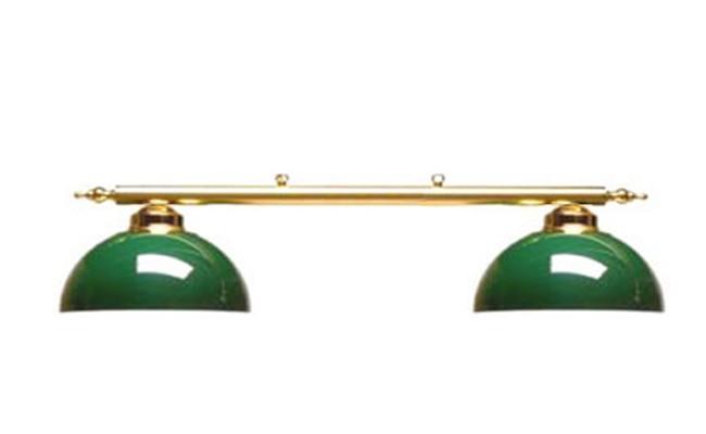 luminaire canopy 2 globes vert g152v achat billard baby foot flechette. Black Bedroom Furniture Sets. Home Design Ideas