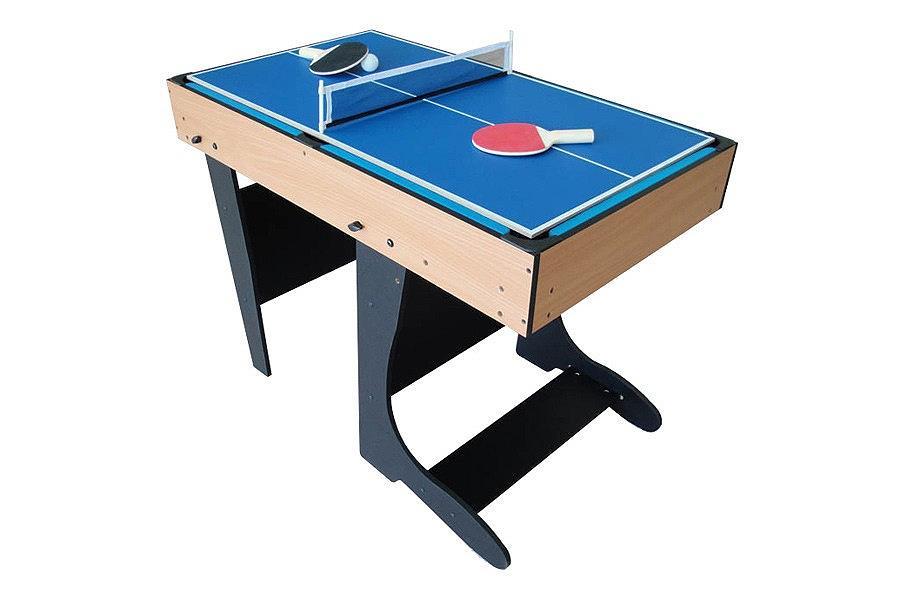 Table multi Jeux 21 en 1 ton bois pliable RILEY W471F  idfamusementcom  ac