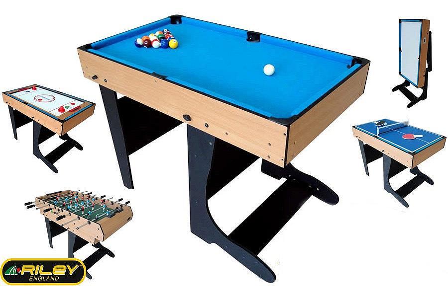 table multi jeux 21 en 1 ton bois pliable riley w471f achat billard baby. Black Bedroom Furniture Sets. Home Design Ideas